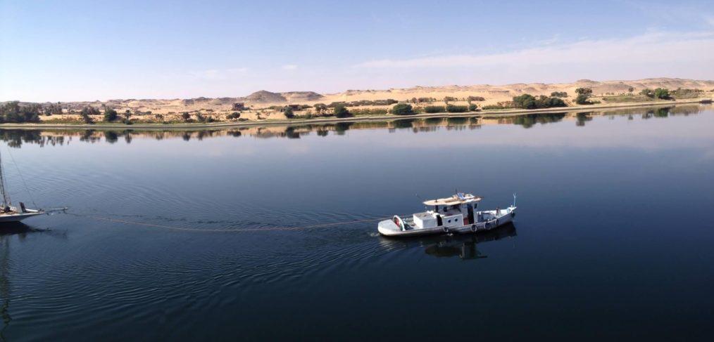 Ägypten-Nilkreuzfahrt-Schiff