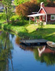 Schweden-Idyll-Ferienhaus