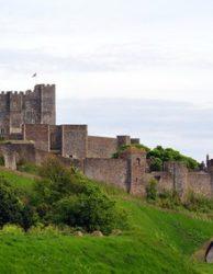 Dover Schloss Eingang